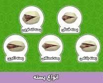 انواع پسته در ایران